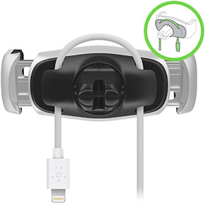 support belkin attache cable