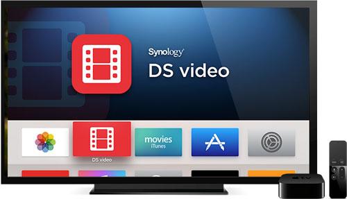 DS Video sur TV + Apple TV