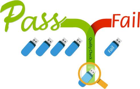 Duplicateur USB test qualité après copie