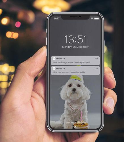 Appli mobile Petoneer