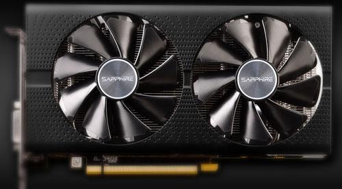 Sapphire Nitro+ RX580 doubles ventilateurs
