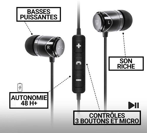 SoundMagic E11BT description