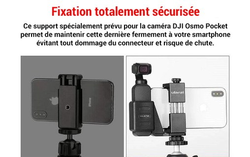 6: Ulanzi OP-1 Kit - Support iPhone et DJI Osmo Pocket