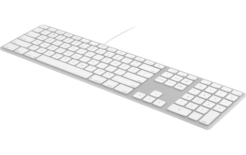 0: Matias Wired Aluminium - Clavier AZERTY USB pour Mac