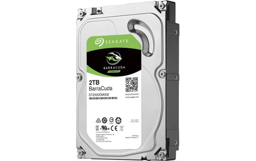 "0: 2 To Seagate BarraCuda SATA III 3,5"" 7200 tr/min 256 Mo ST2000DM008"
