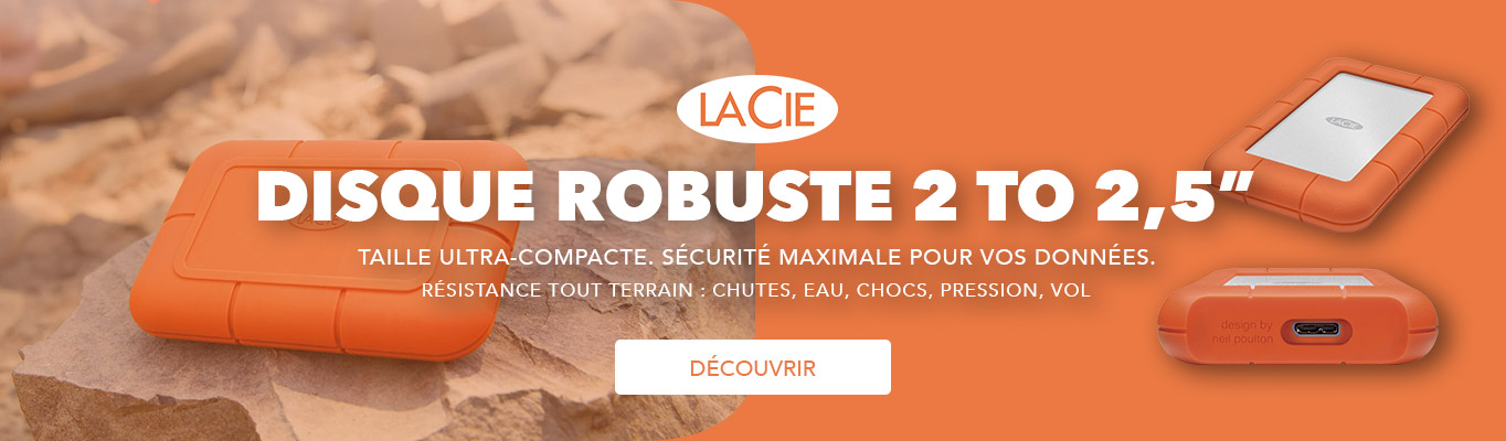 """Lacie Rugged 2 To 2,5"""""""