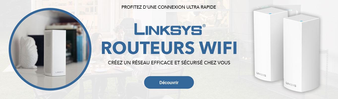 Slide Linksys routeurs