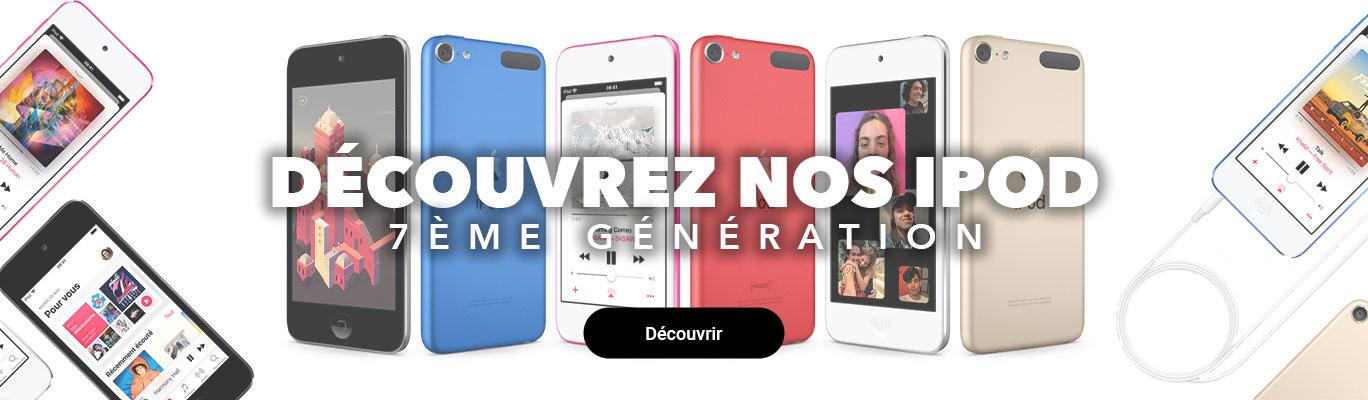 Nos iPod 7ème génération