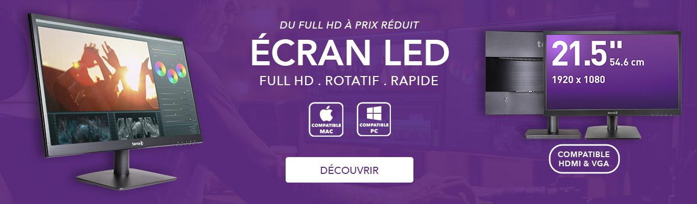"""Écran LED 21,5"""""""