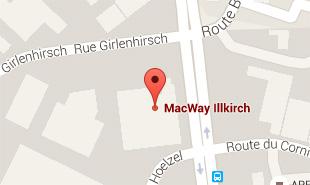 Carte pour accéder à MacWay NOTRE_MAGASIN_ILLKIRCH