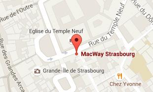 Carte pour accéder à MacWay NOTRE_MAGASIN_STRASBOURG