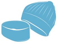 Bonnets ou bandeaux