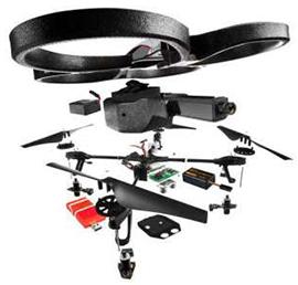 Pièces de remplacement pour drone