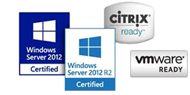 Une compatibilité totale VMWare, Citrix et Windows Server