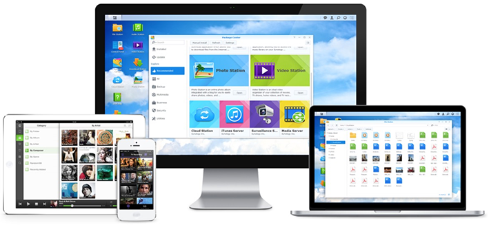 Une bibliothèque et un serveur multimédia pour tous vos appareils