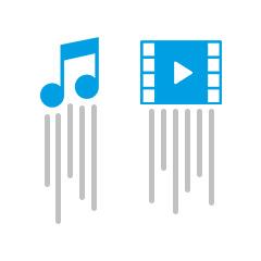 Flux audio et vidéo