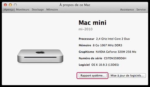 Trouver son identifiant Mac - 3