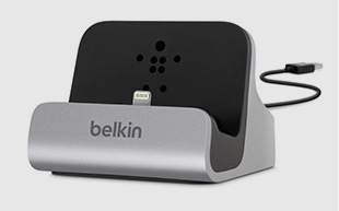 dock de charge synchronisation lightning belkin