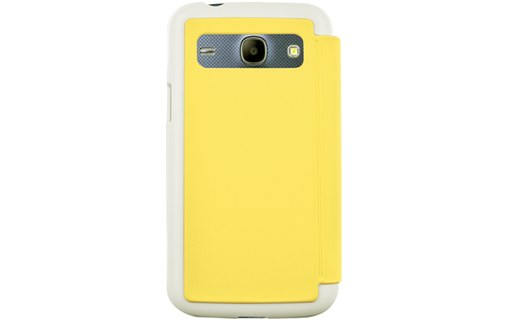 Aperçu 2: Etui coque jaune made in France pour Samsung Galaxy Core Plus G3500