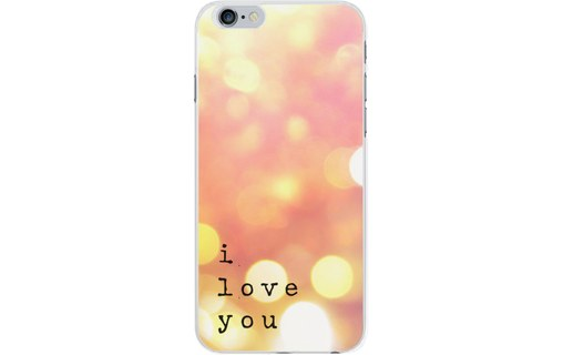 Aperçu 0: Coque rigide transparente I love you pour Apple iPhone 6/6S