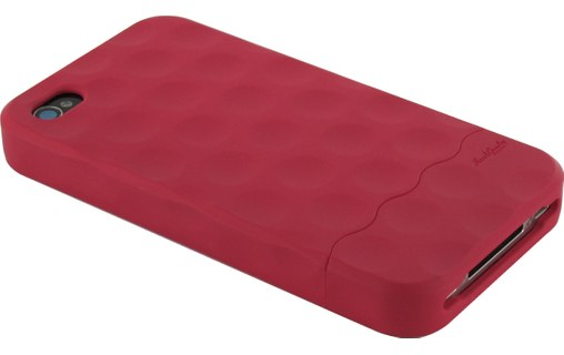 Aperçu 2: Hard Candy Cases Bubble Slider Soft Touch Red - Etui pour iPhone 4