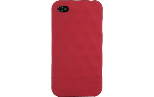 Aperçu 4: Hard Candy Cases Bubble Slider Soft Touch Red - Etui pour iPhone 4
