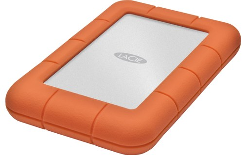 "Aperçu 0: LaCie Rugged Mini 4 To - Disque dur externe 2,5"" USB 3.0"