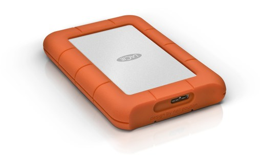"Aperçu 5: LaCie Rugged Mini 4 To - Disque dur externe 2,5"" USB 3.0"