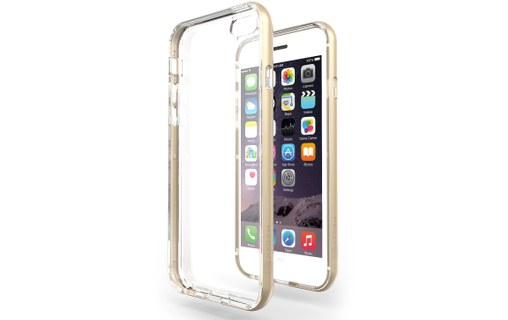 Aperçu 0: Coque iPhone 6 / 6s (4,7') Azorm Hybrid Edition Doré Or, bumper transparent