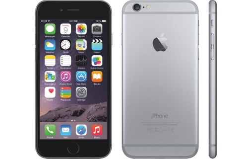 Aperçu 0: Apple iPhone 6 Plus 64 Go Gris Sidéral