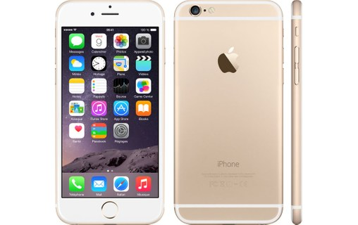 Aperçu 0: Apple iPhone 6 16Go Or