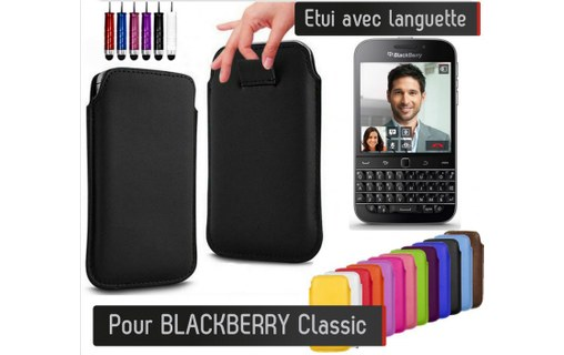 Aperçu 0: Etui Pull up BLACKBERRY Classic - LILAS