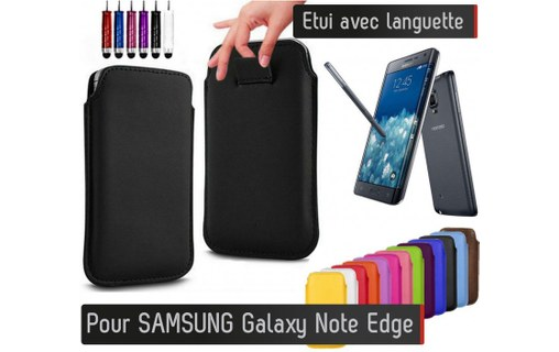 Aperçu 0: Etui Pull up Samsung Galaxy Note Edge - ROSE BONBON