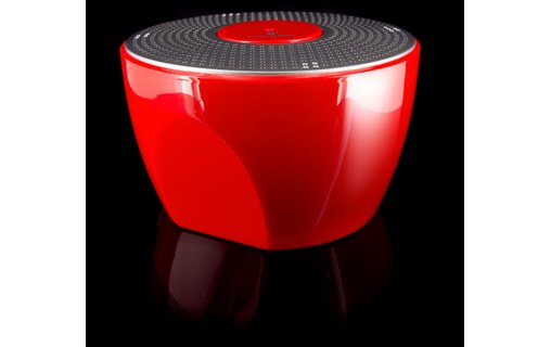 Aperçu 4: Novodio Shower Bluetooth Speaker - Enceinte Bluetooth waterproof Rouge