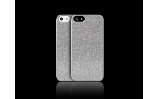 Aperçu 2: Novodio Glitter Case Silver - Coque de protection pour iPhone 5 / 5s / SE