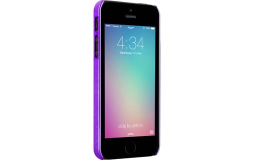 Aperçu 2: Novodio 3D Diamond Violet - Coque de protection pour iPhone 5 / 5s / SE