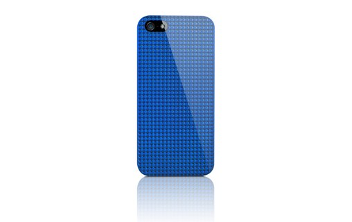 Aperçu 1: Novodio 3D Diamond Bleu - Coque de protection pour iPhone 5 / 5s / SE