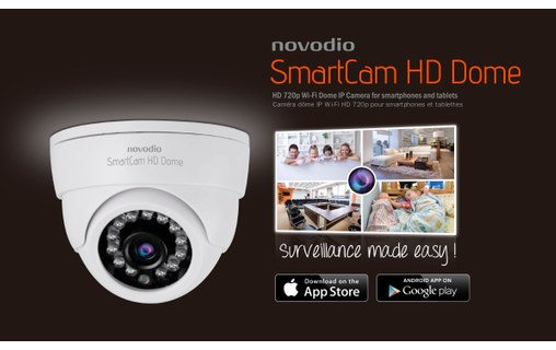 Aperçu 5: Pack Surveillance In & Out + Novodio - 2 x SmartCam HD Outdoor + 2 x HD Dome