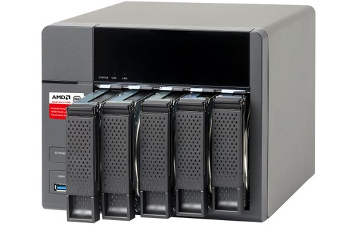 Aperçu 1: QNAP Turbo Station TS-563 2G - Serveur NAS 10 To RED