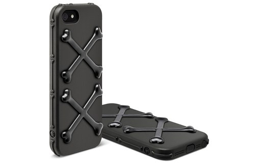 Aperçu 4: SwitchEasy Bones Pirate Black - Etui de protection pour iPhone 5 / 5s / SE