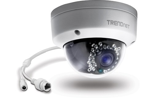 Aperçu 1: TRENDnet TV-IP311PI - Caméra IP Dome PoE IP66 HD 3MP