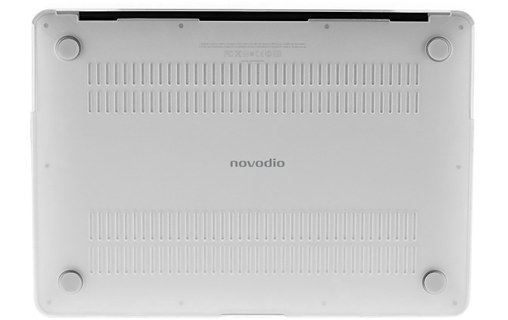 Aperçu 2: Novodio MacBook Case Transparent Satin - Coque pour MacBook Air 13,3""