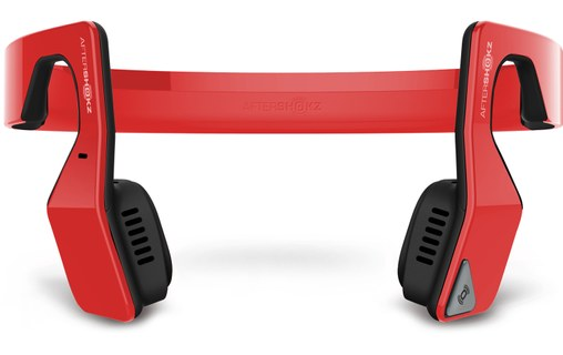 Aperçu 1: AfterShokz Bluez 2S Rouge - Casque Bluetooth par vibration osseuse