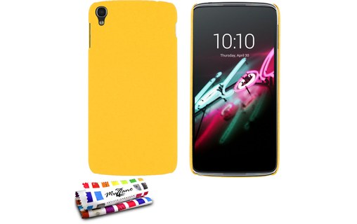 "Aperçu 0: Coque rigide ""Le Pearls"" ALCATEL ONE TOUCH IDOL 3 (4.7) Jaune"