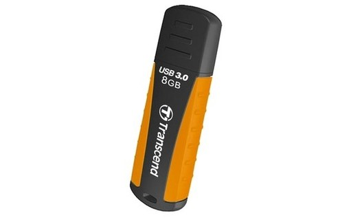 Aperçu 1: TRANSCEND ANTICHOC USB3.0 JETFLASH 810 CLÉ USB 8 GO ORANGE