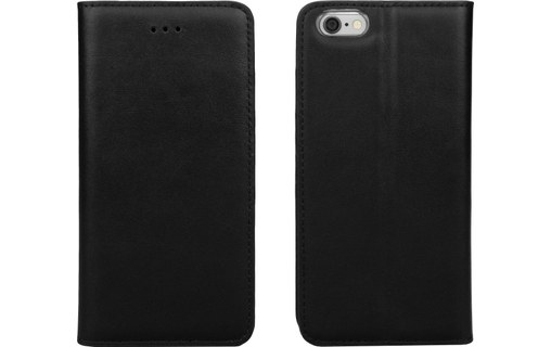 Aperçu 0: CASEual Leather Wallet Italian Black - Étui en cuir à rabat pour iPhone 6s Plus