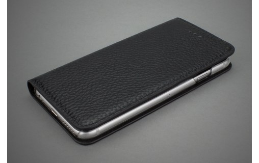 Aperçu 3: CASEual Leather Wallet Classic Black - Étui en cuir à rabat pour iPhone 6s