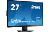 "Achat IIYAMA ProLite X2783HSU-B3 - LED 27"" Full HD VGA, DisplayPort, HDMI, Hub USB"