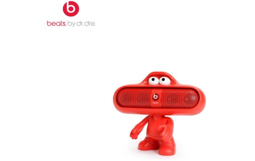 Aperçu 0: Beats by Dr. Dre Pill Dude-red