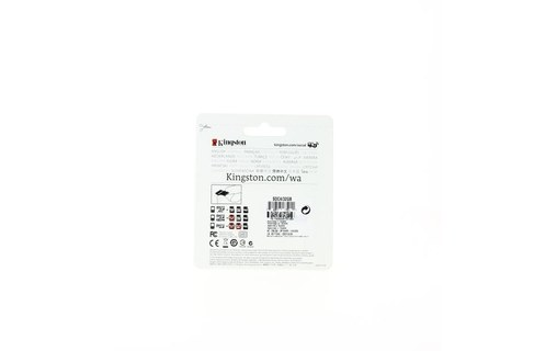 Aperçu 1: CARTE MEMOIRE KINGSTON MICRO SDHC 32GO+ ADAPT CL4 KINGSTON SDC4/32GB